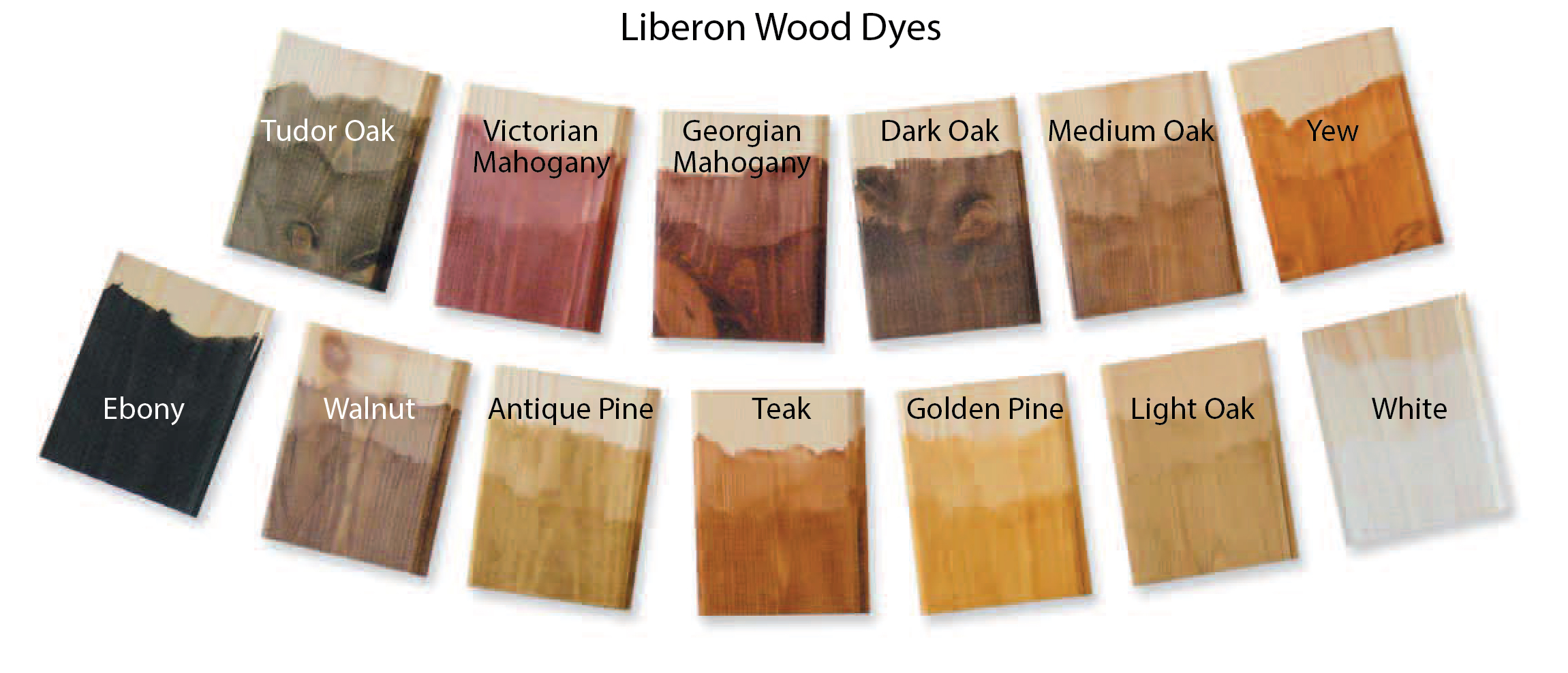 S G Bailey Paints Ltd Liberon Wood Dye Colours