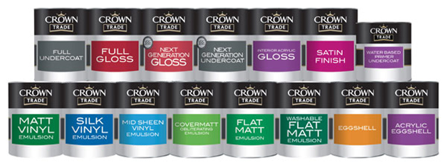 Crown Trade Paint Suppliers Bailey Paints Ltd