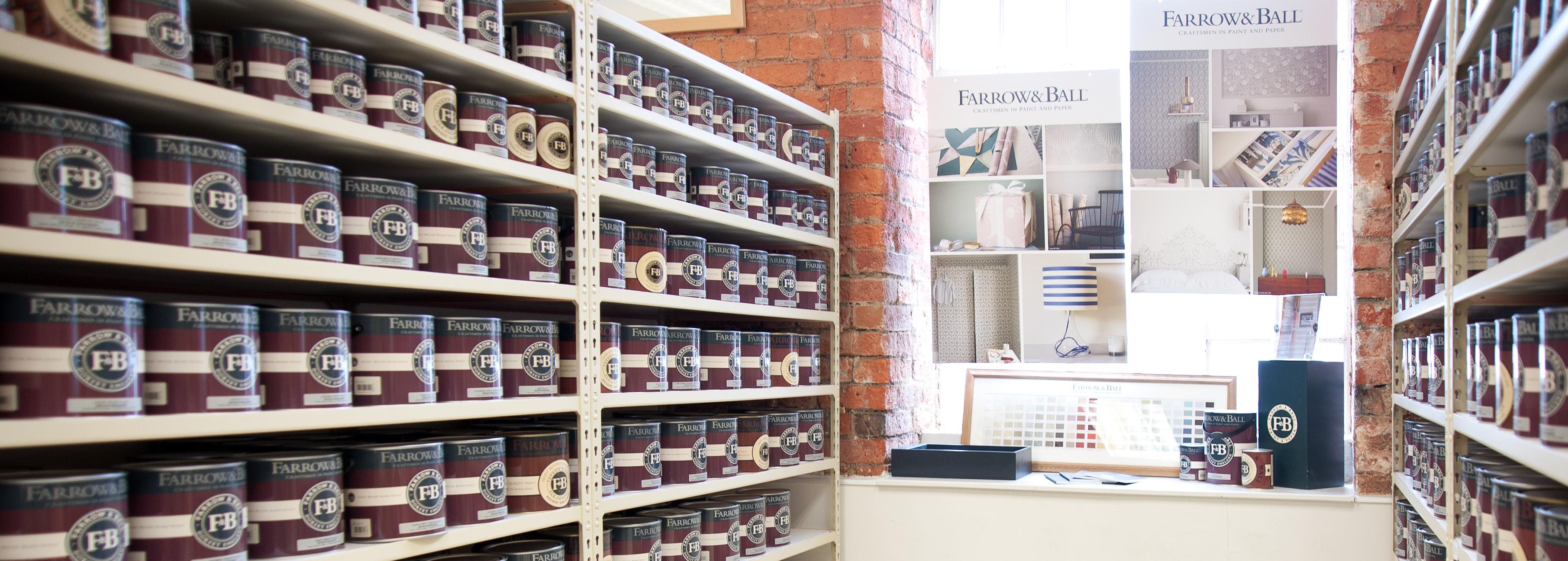 Farrow Ball Paint Suppliers Bailey Paints Ltd