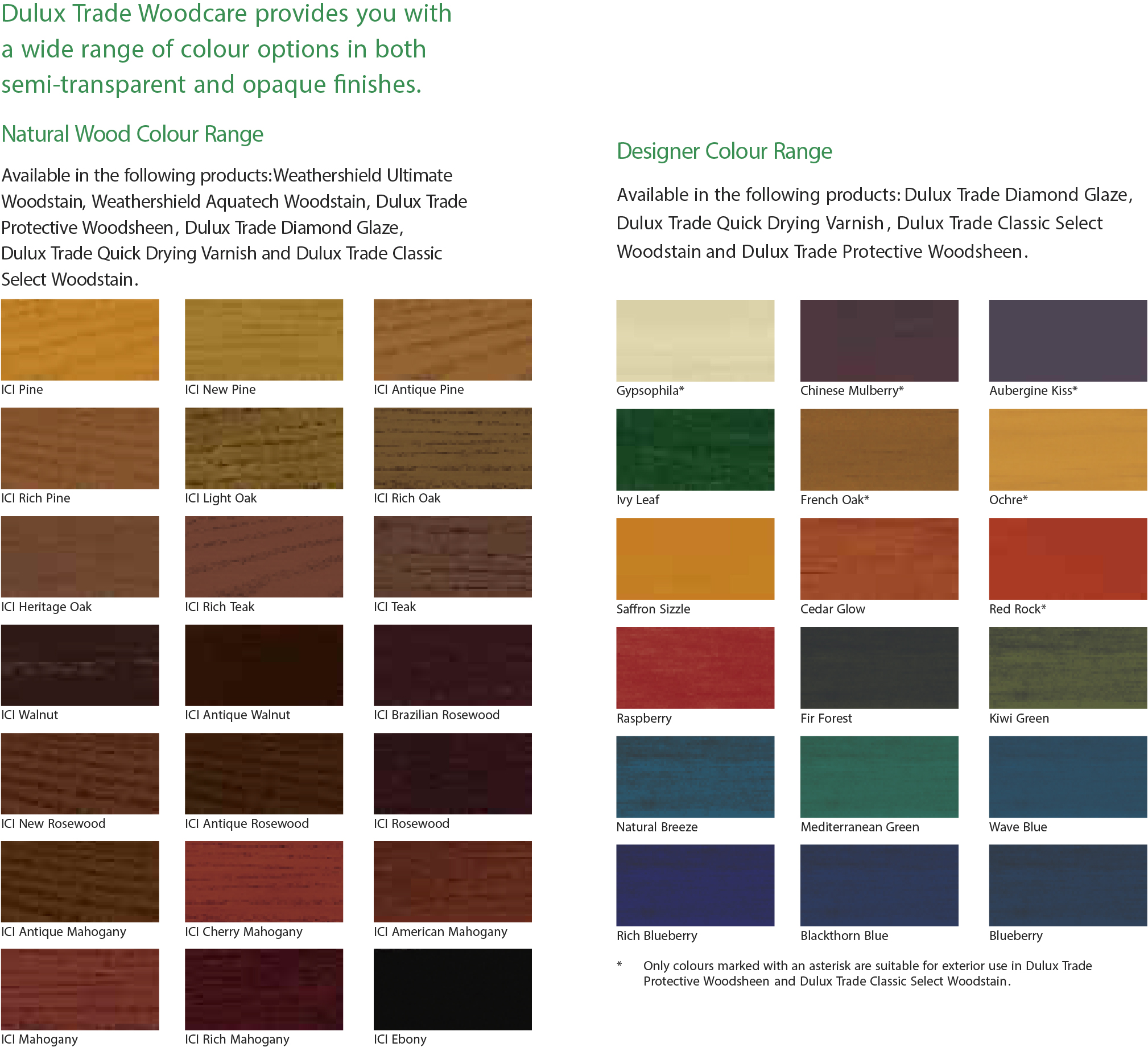 Dulux interior gloss paint colour chart - Dulux exterior paint colour chart decoration ...